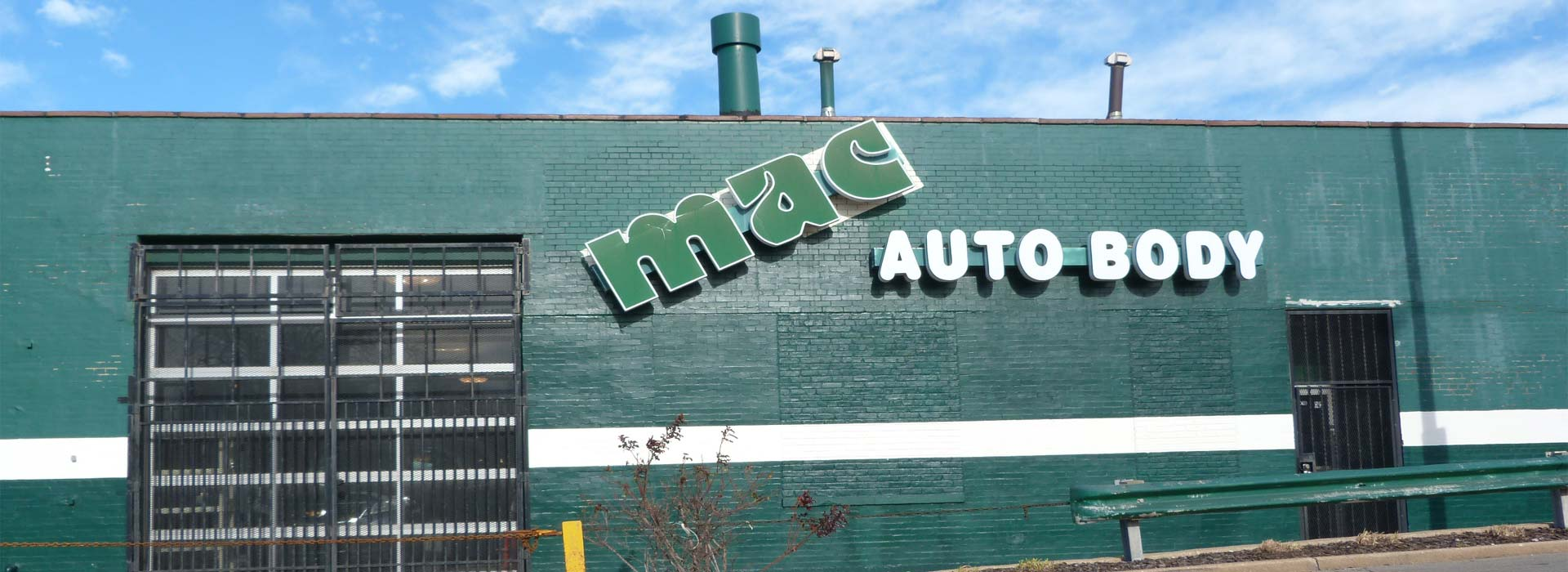 Front of Building @ MAC Auto Body, Inc.